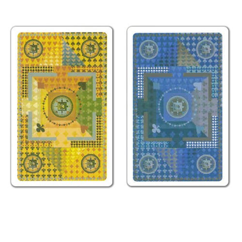 COPAG Plastic Playing Cards, Mandala Bridge Jumbo