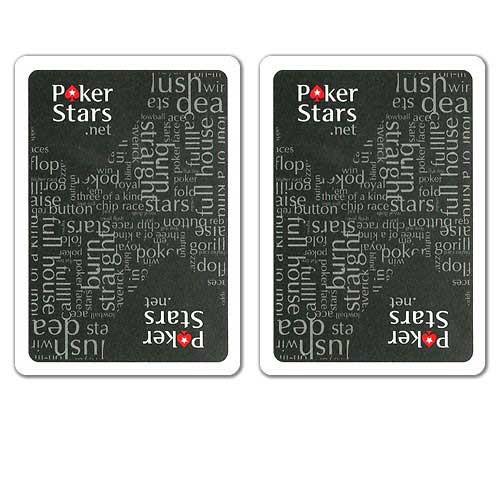COPAG PokerStars.net Plastic Playing Cards - Black