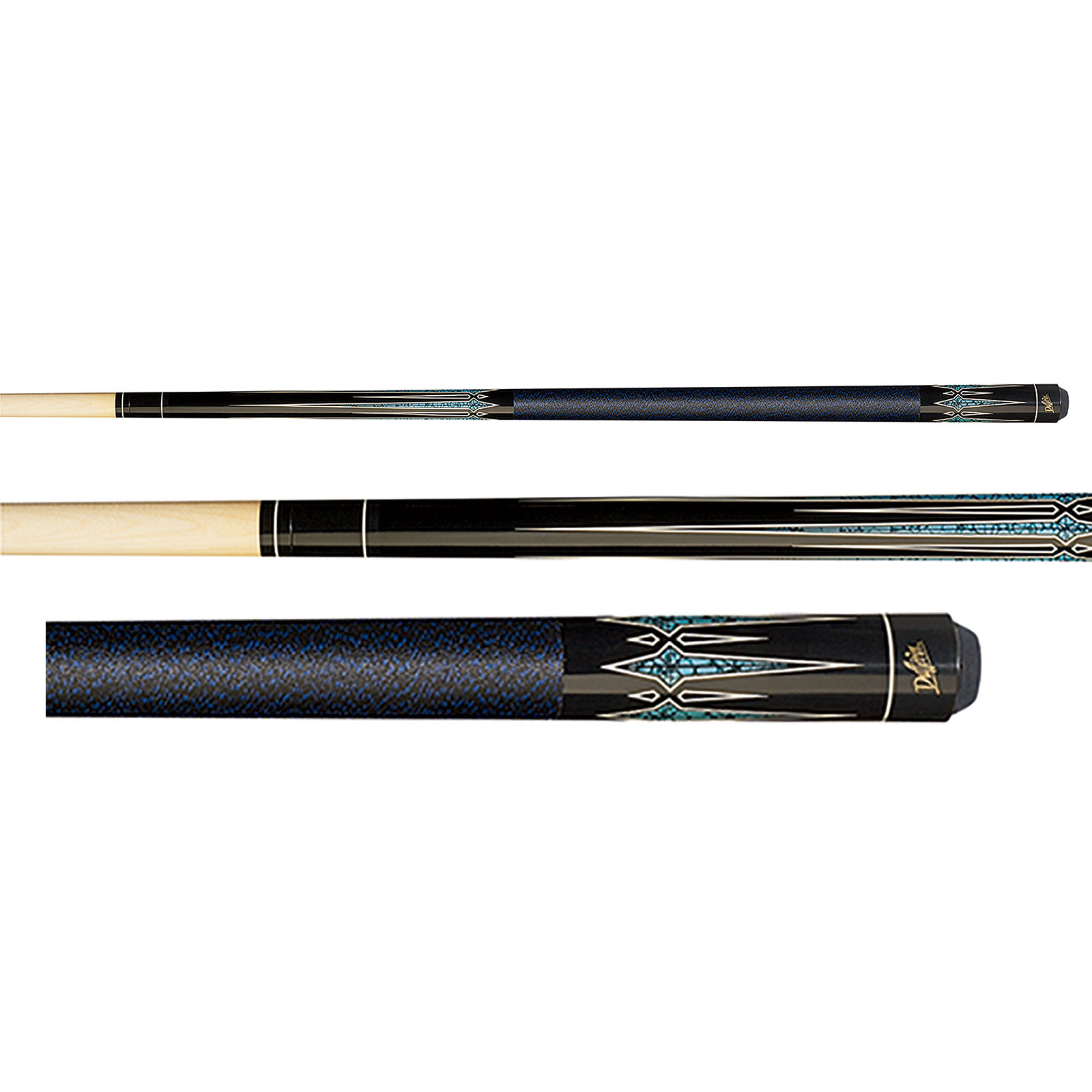 Dufferin D-312 Black Pool Cue Stick