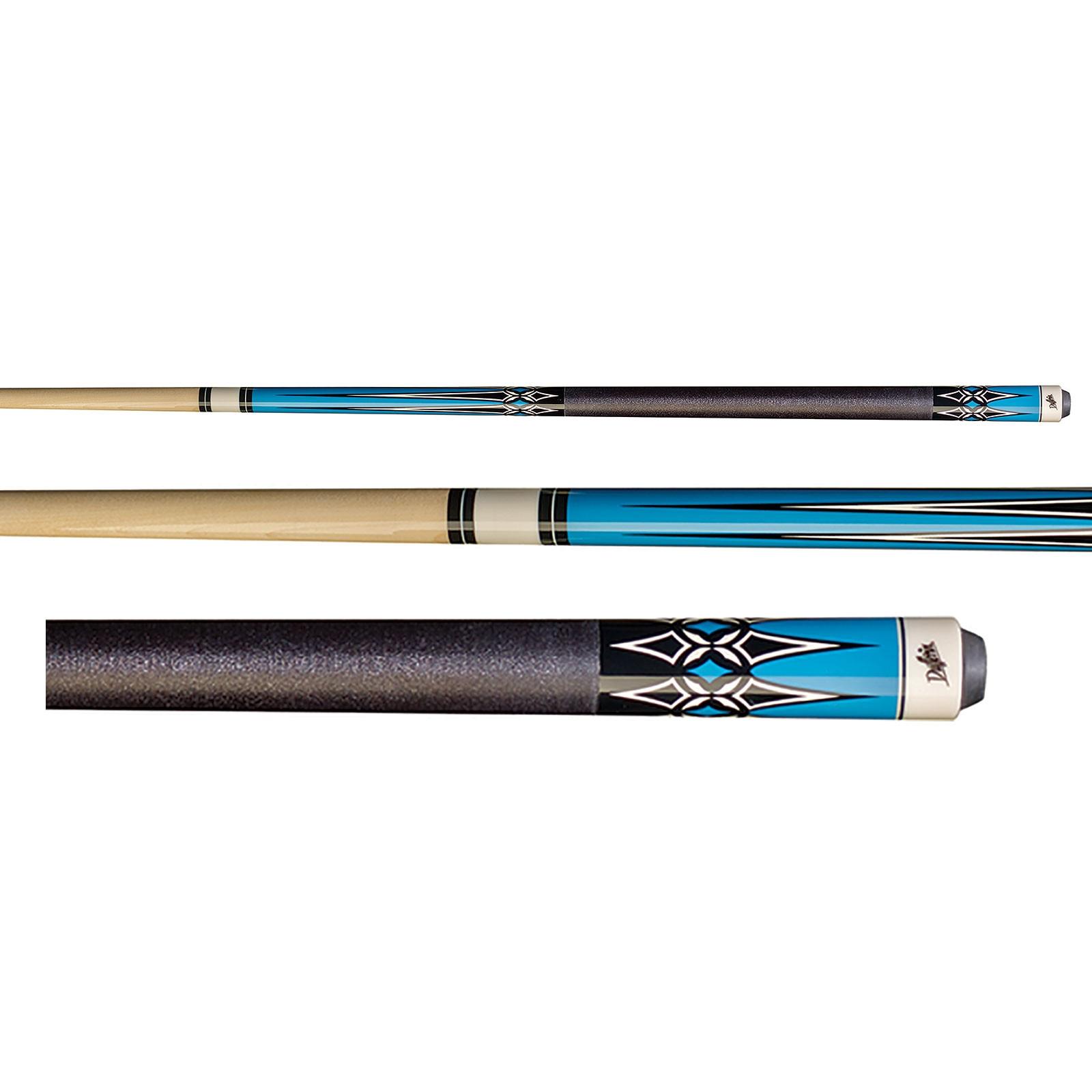 Dufferin D-332B Blue Pool Cue Stick