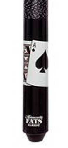 Minnesota Fats Ace & King Black Maple Pool Cue