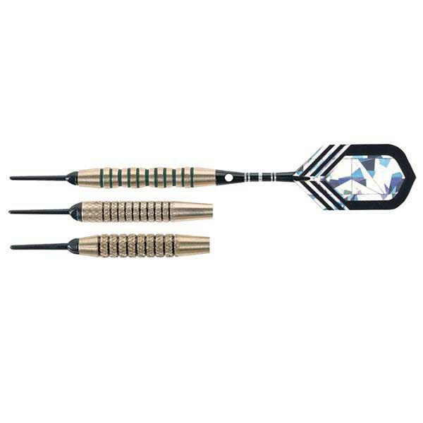 Arachnid SFA400 Striped Brass 16 Gram Soft Tip Dart Set