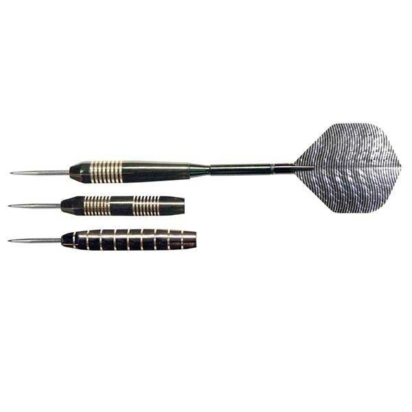 NODOR STA500 Gunmetal Steel-Tip Dart Set