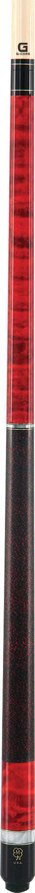 McDermott G208 G-Series Pool Cue - Red
