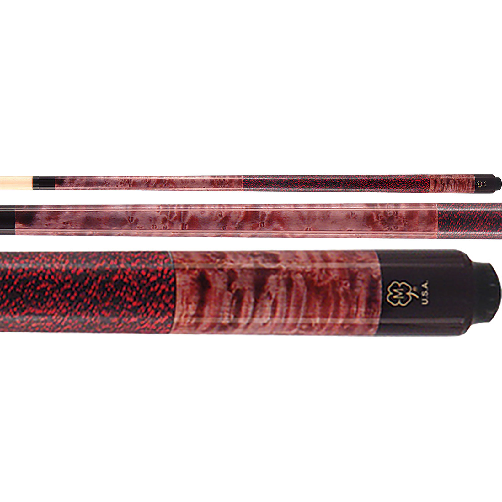 McDermott GS09 GS-Series Red Pool Cue