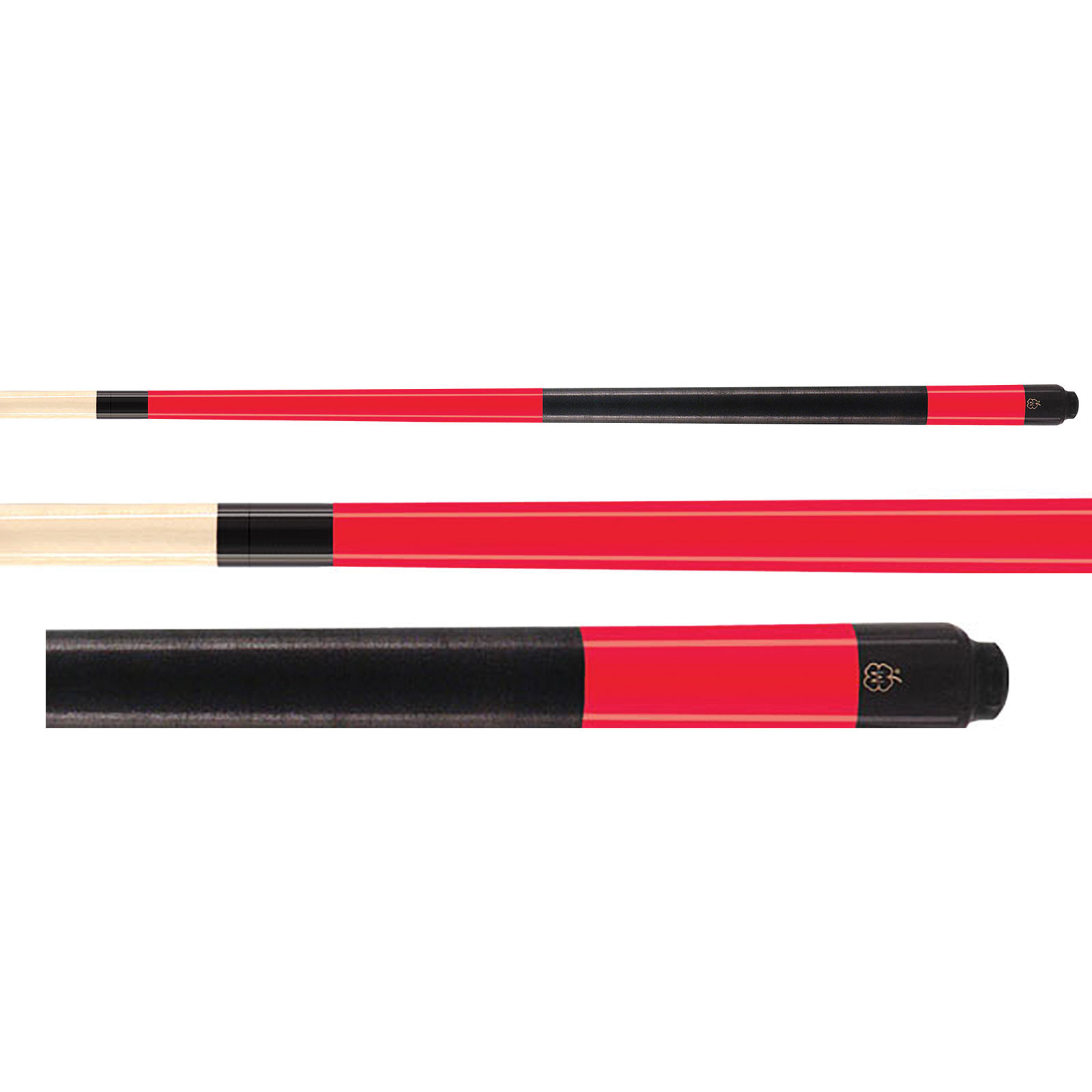 "McDermott K94C 52"" Red Youth Pool Cue"