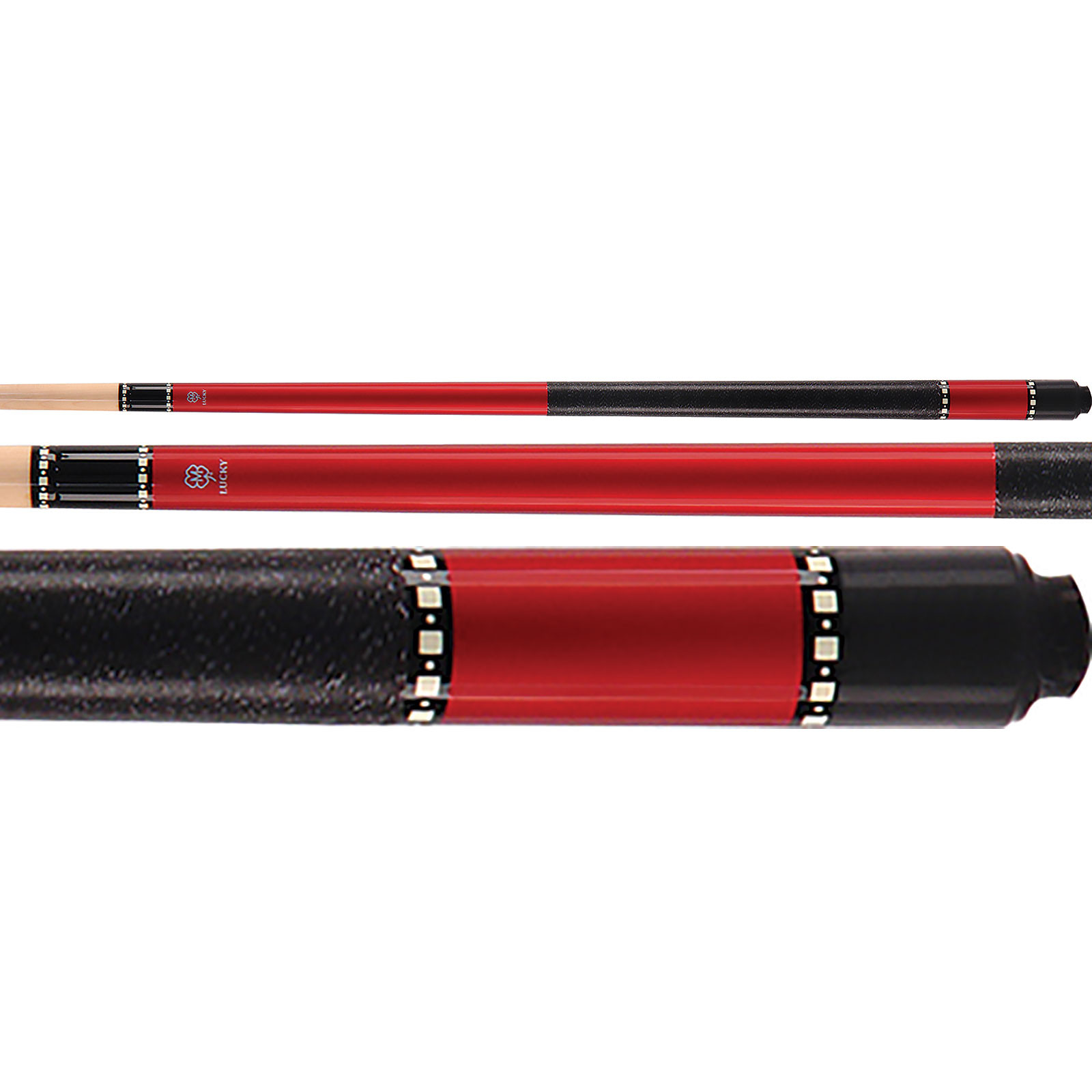 McDermott Lucky Pool Cue, L10, Red