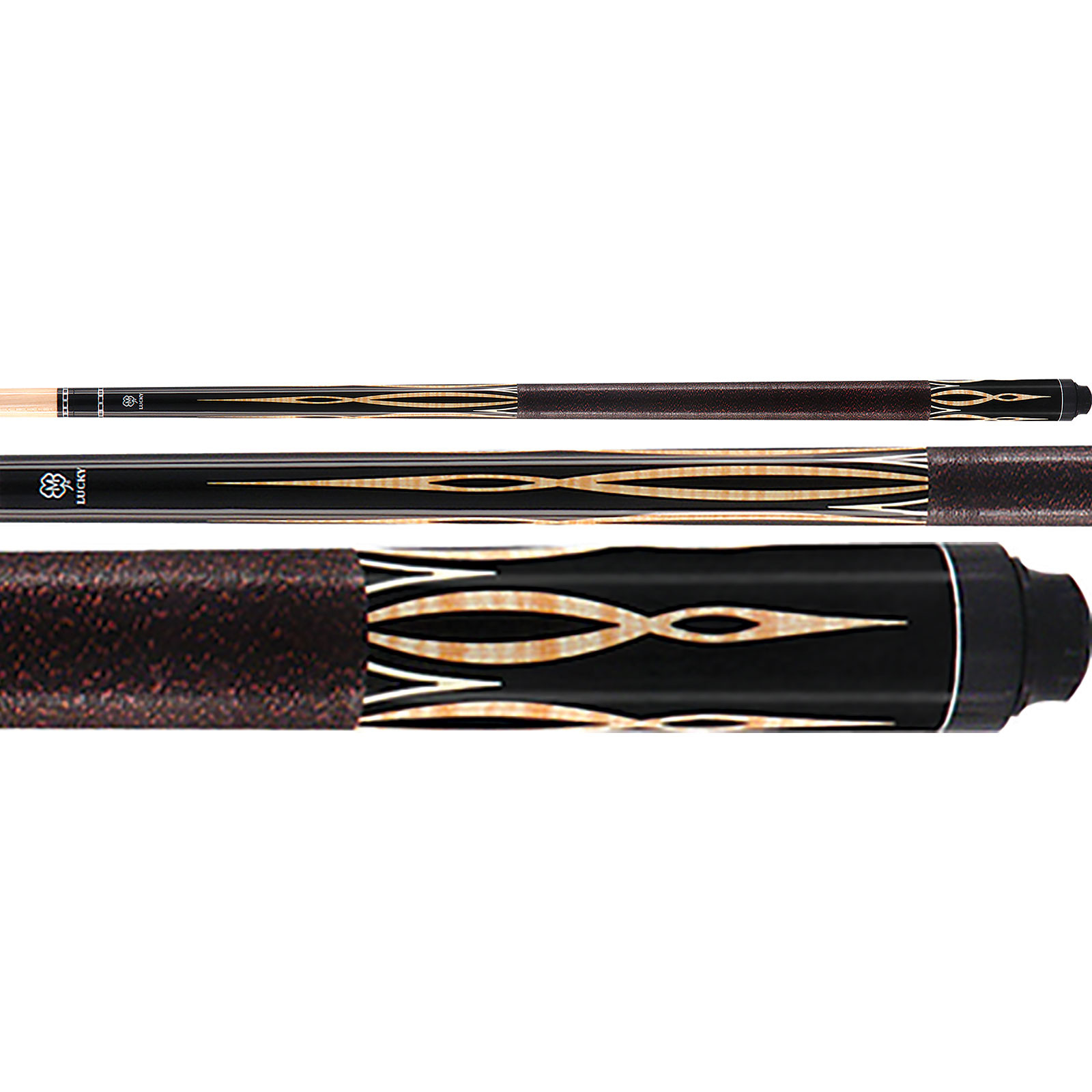 McDermott Lucky Pool Cue, L31, Black