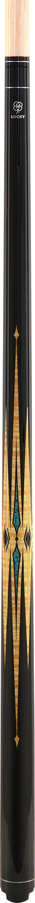 McDermott Lucky Pool Cue, L38, Black