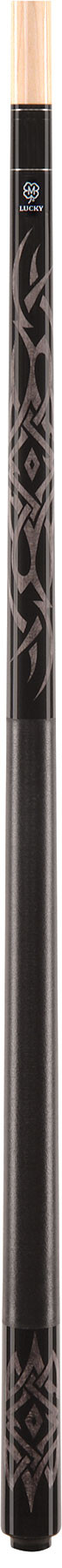 Lucky Pool Cue, L48, Grey