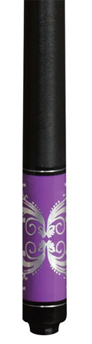Lucky Pool Cue, L59, Purple