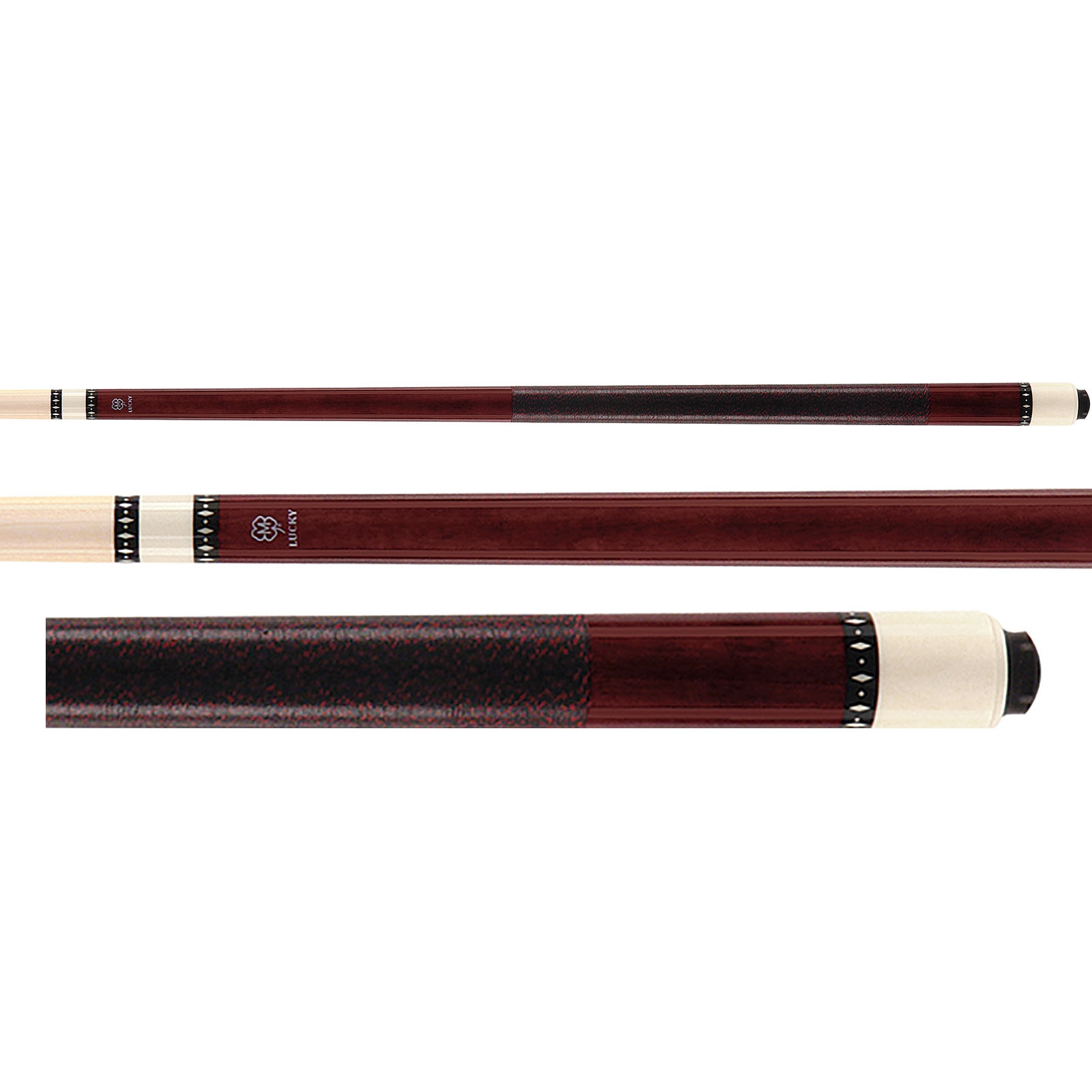 McDermott Lucky Pool Cue, L6, Red