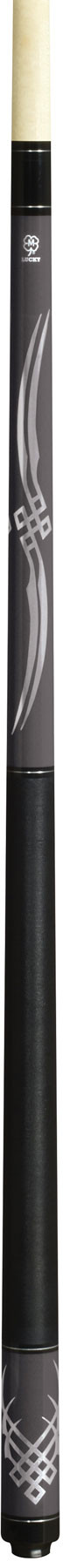 Lucky Pool Cue, L61, Grey