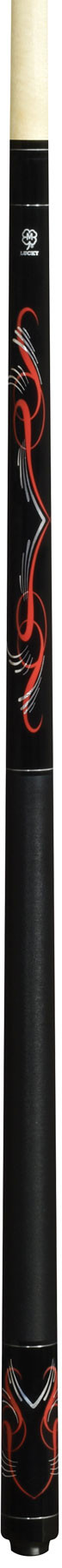 Lucky Pool Cue, L62, Black