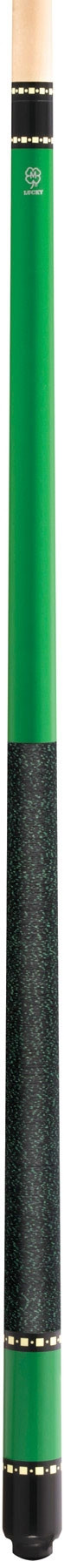 McDermott Lucky Pool Cue, L72, Green