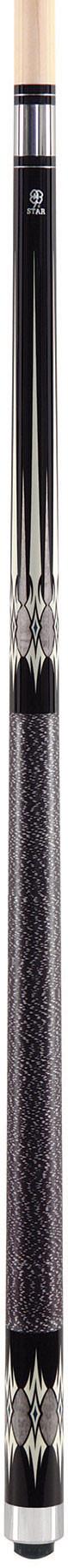 McDermott Star S51 Pool Cue - Black/Grey