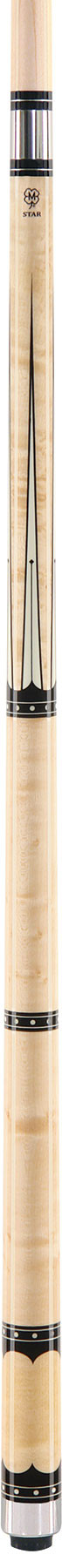 McDermott Star S58 Natural Billiards Pool Cue Stick