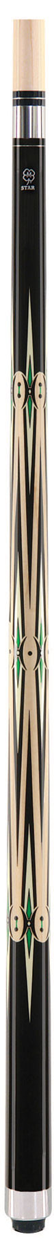 McDermott Star S61 Pool Cue - Black/Tan