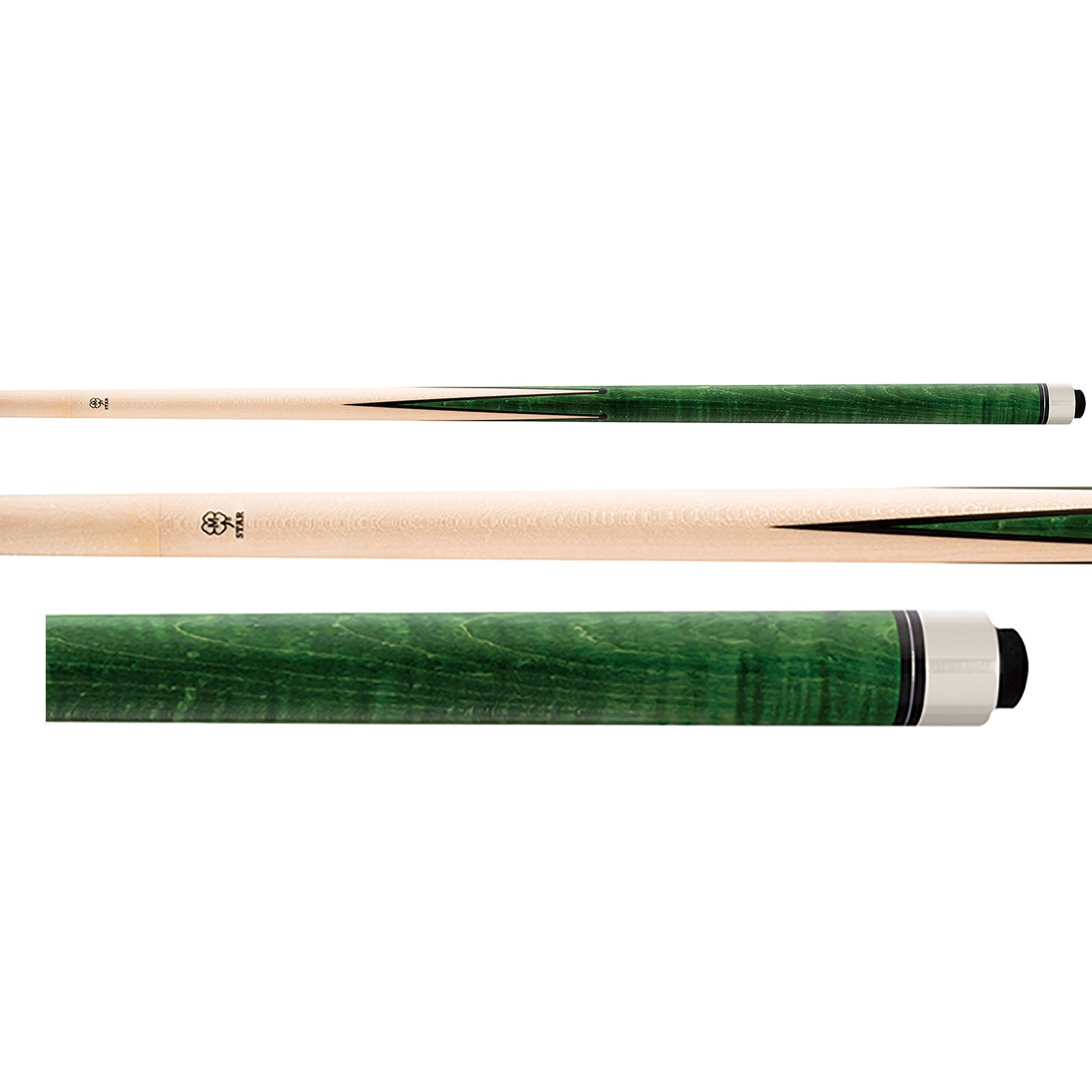 McDermott Star S68 Green Sneaky Pete Pool Cue