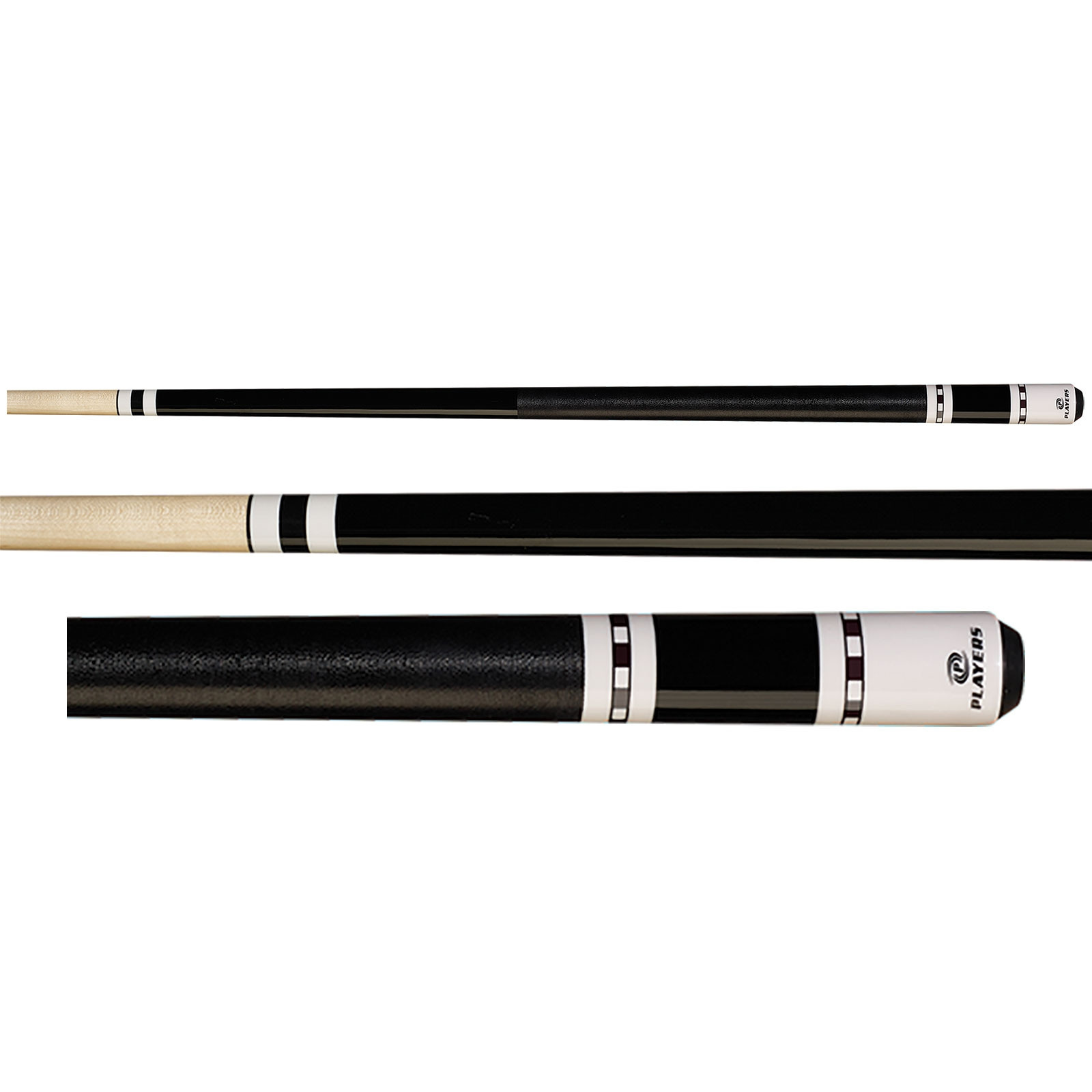 Players C-944 Black Pool Cue