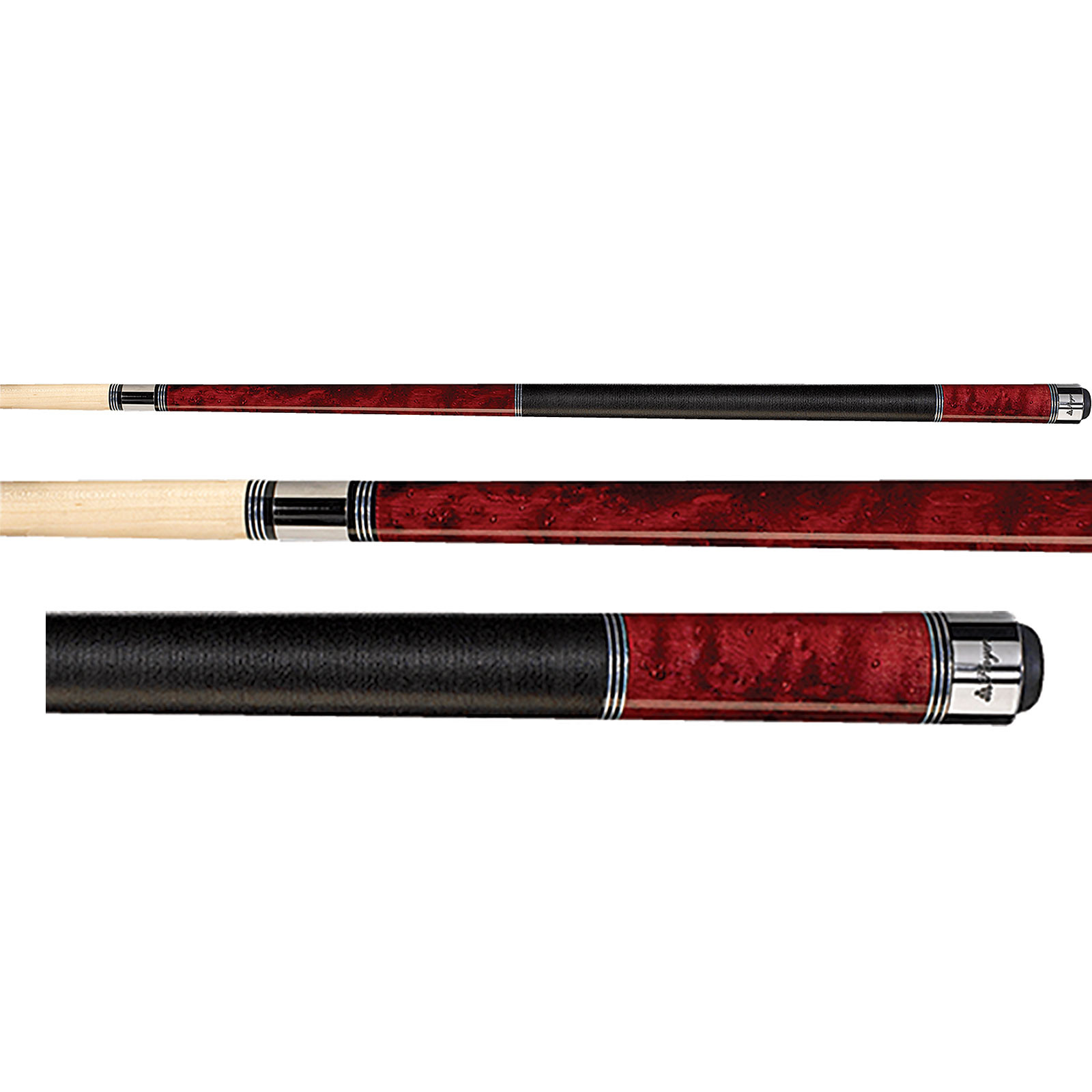 Players C-960 Crimson Red Pool Cue Stick