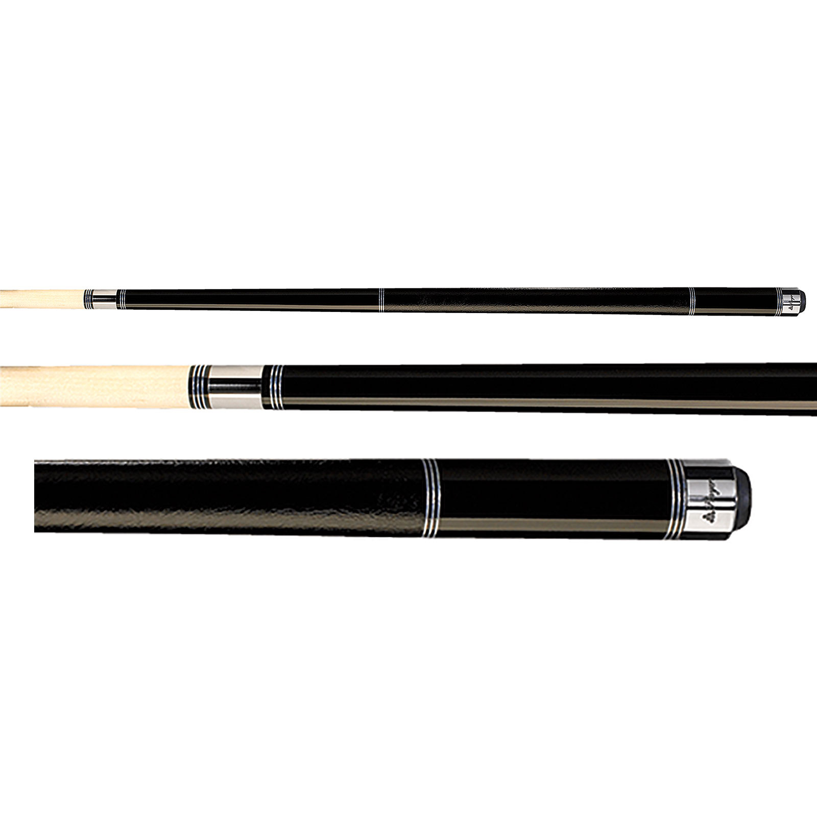 Players C-970 Midnight Black Pool Cue Stick