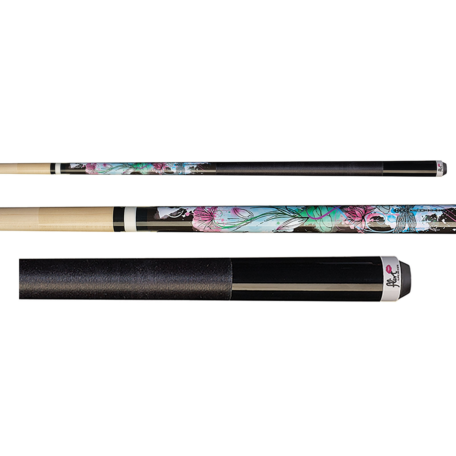 Players F-2605 Flirt Dragonfly Pool Cue Stick