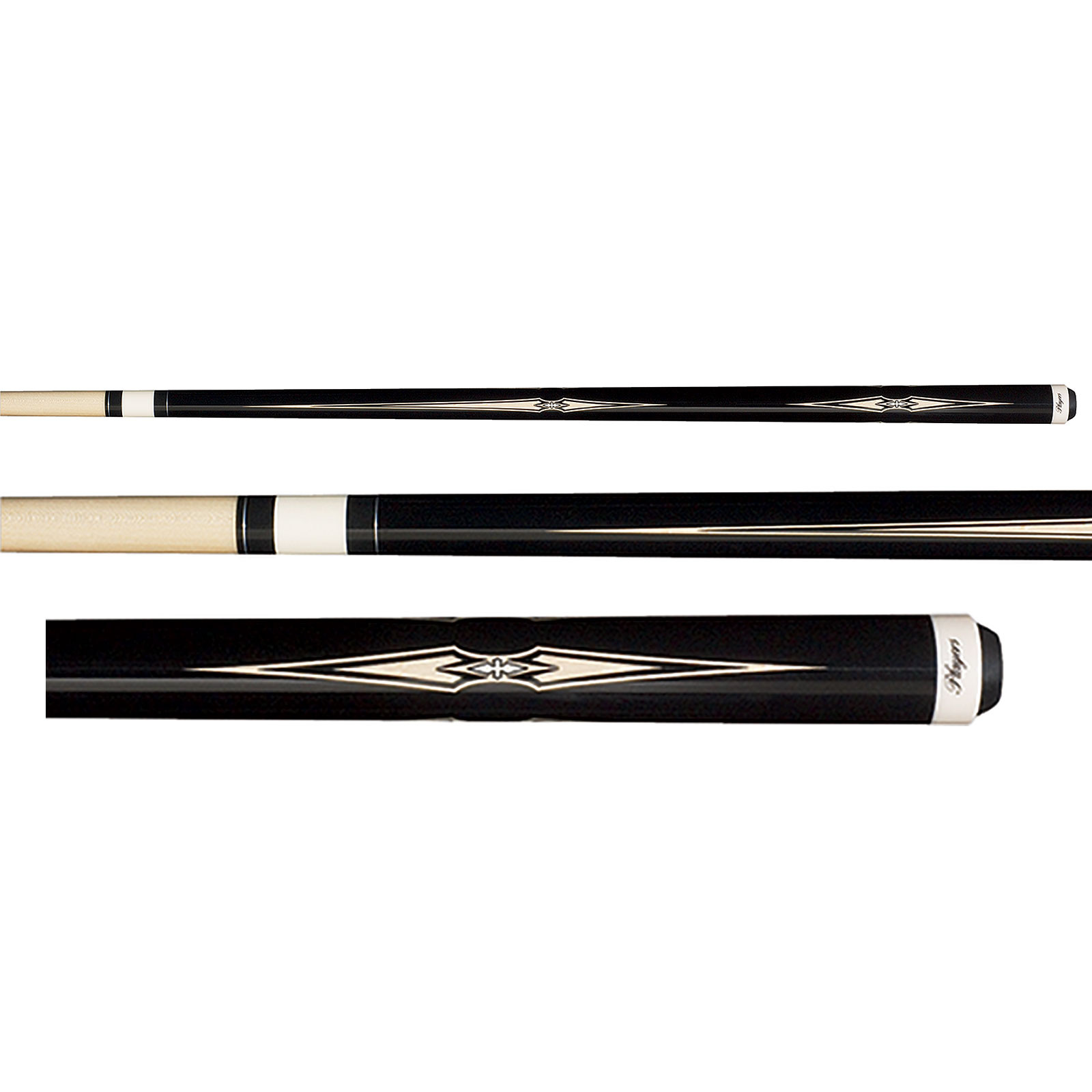 Players G-2300 Midnight Black  Pool Cue Stick