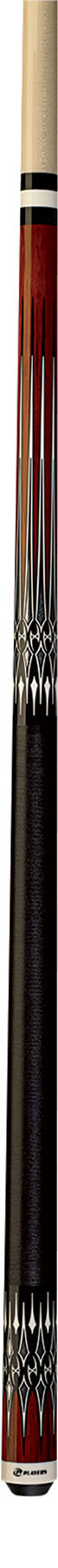 Players G-3397 Brown Exotic Rengas Pool Cue Stick