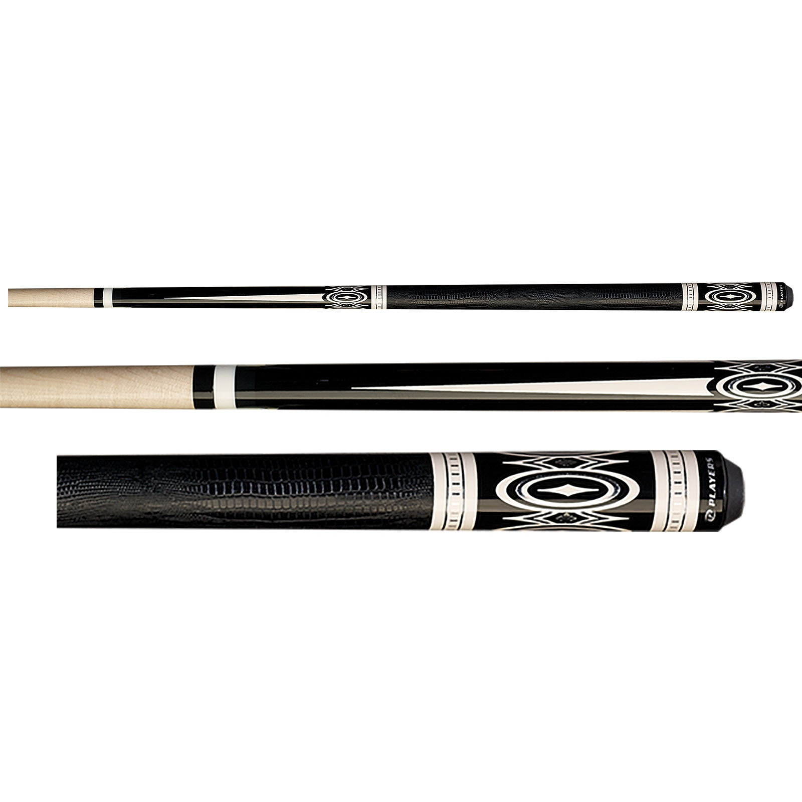 Players G-3398 Black Pool Cue Stick
