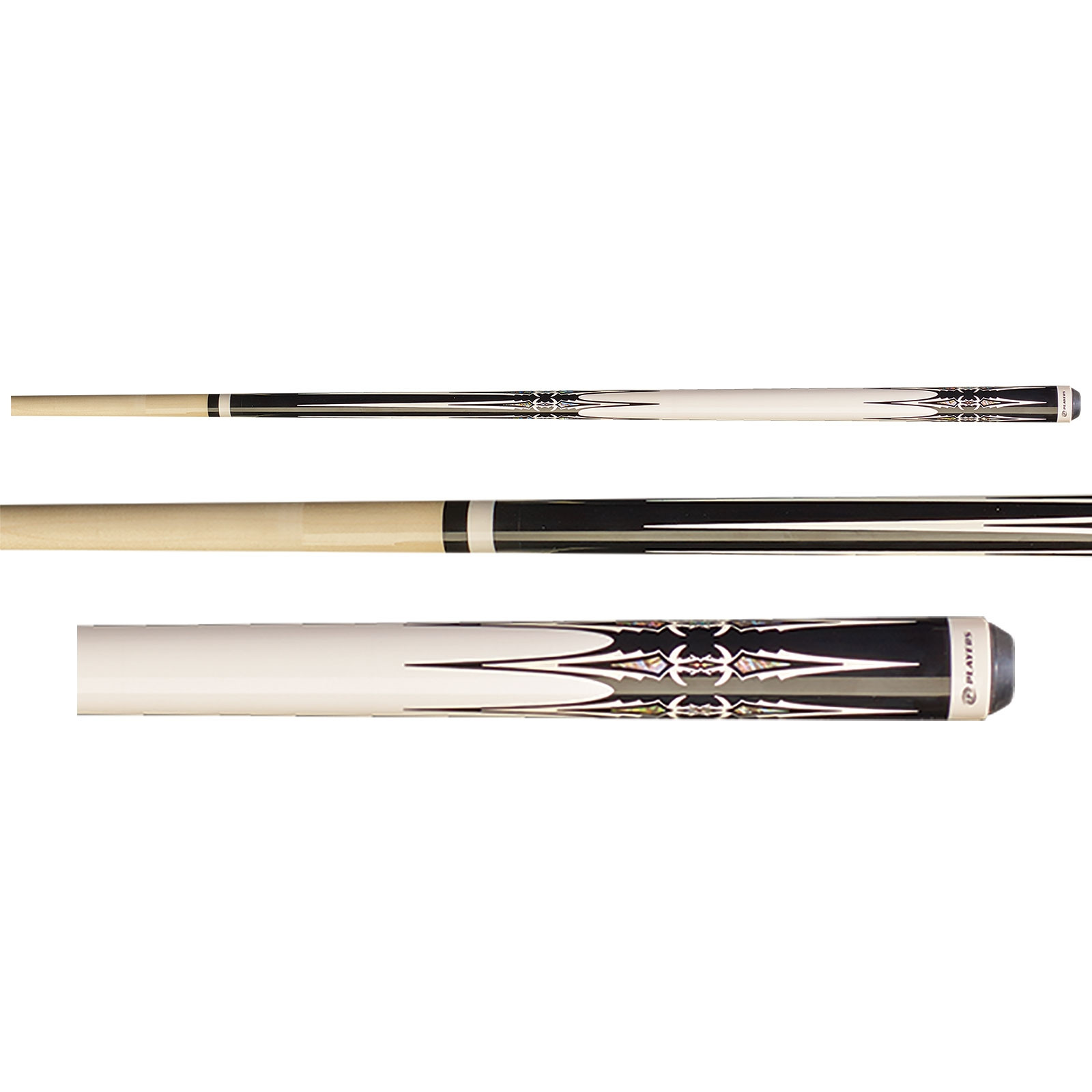 Players G-4112 Black Pool Cue Stick