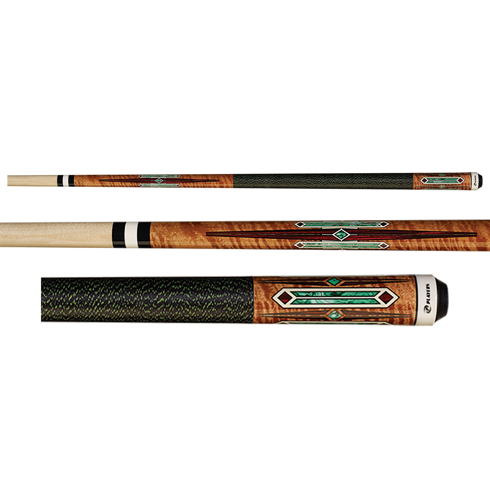 Players G-4122 Antique Brown Pool Cue Stick