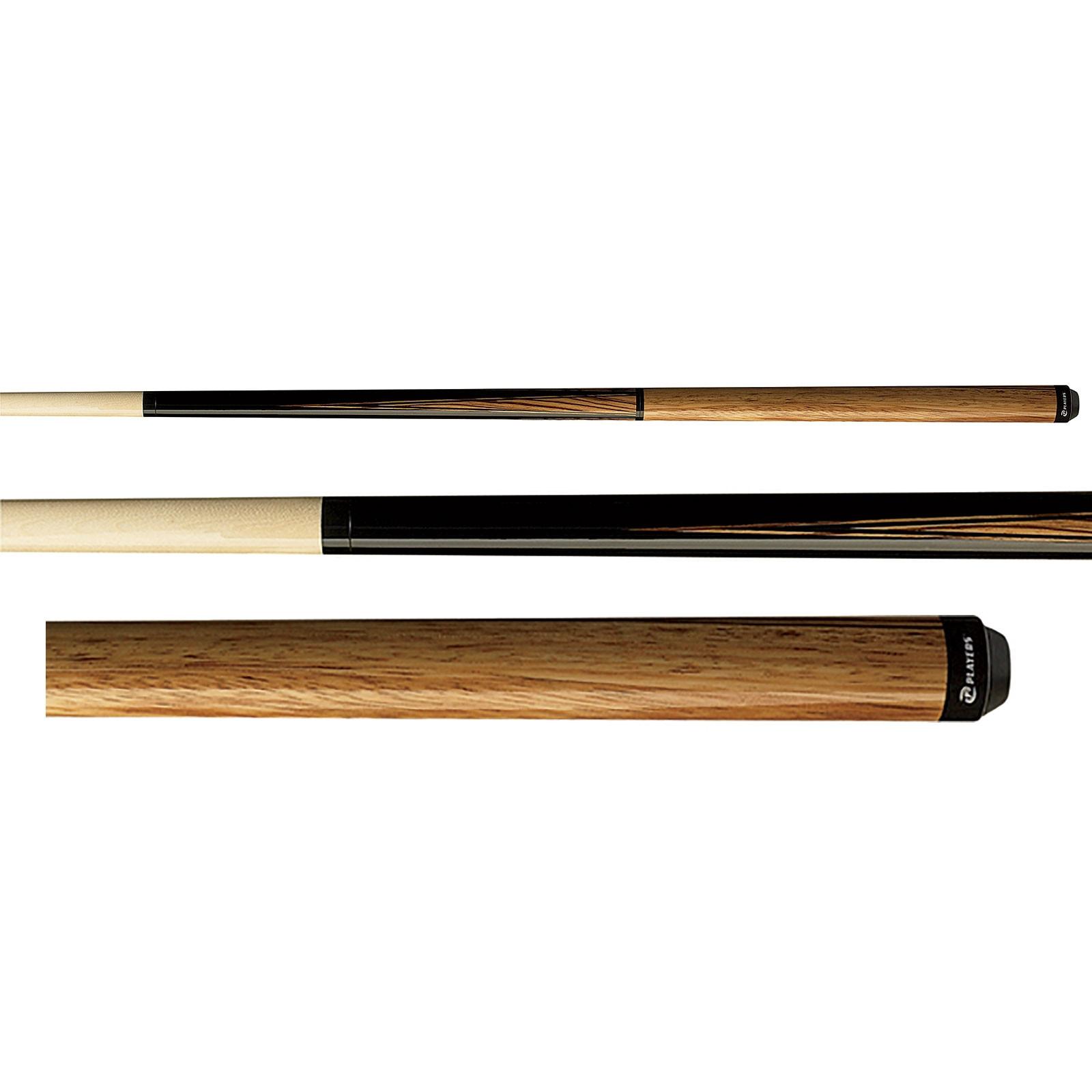 Players JB12 Maple and Zebrawood Jump Break Pool Cue Stick
