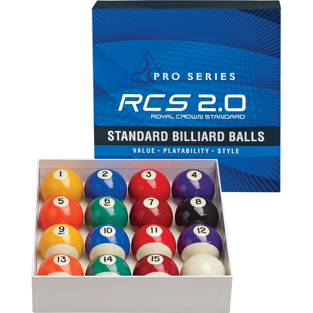 Pro Series RCS2.0 Royal Crown Standard Billiard Ball Set
