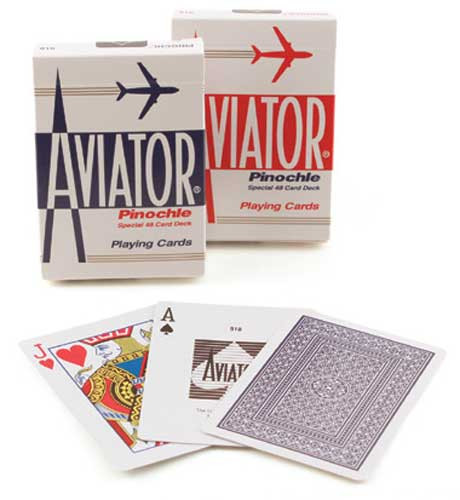 Aviator Pinochle Playing Cards