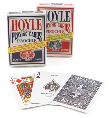Hoyle Official Pinochle Playing Cards