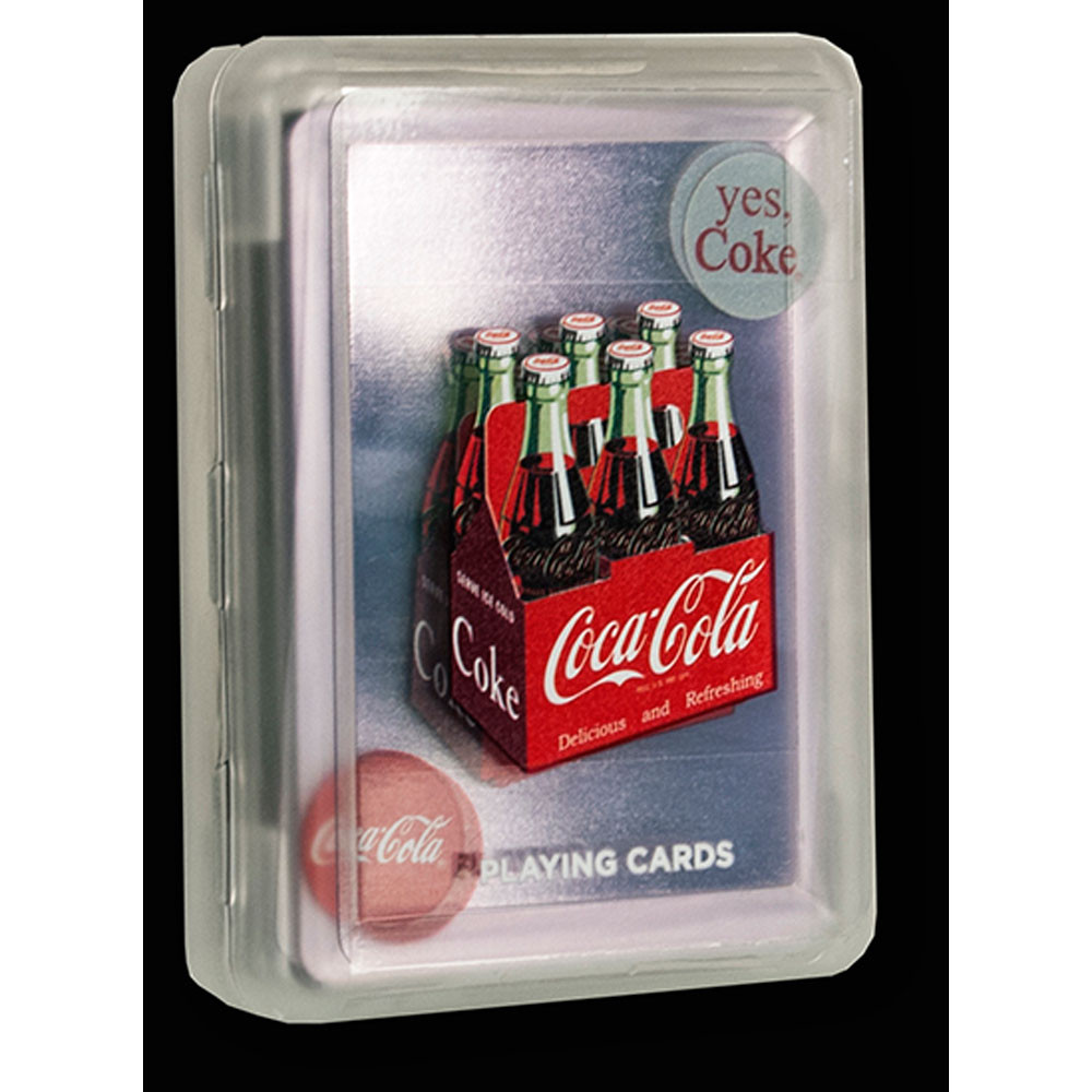 Bicycle Coca Cola Clear Playing Cards
