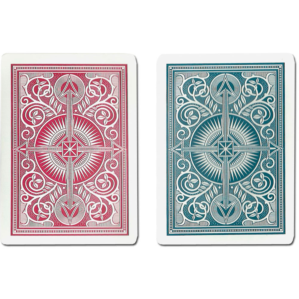 KEM Arrow Red/Blue Plastic Playing Cards