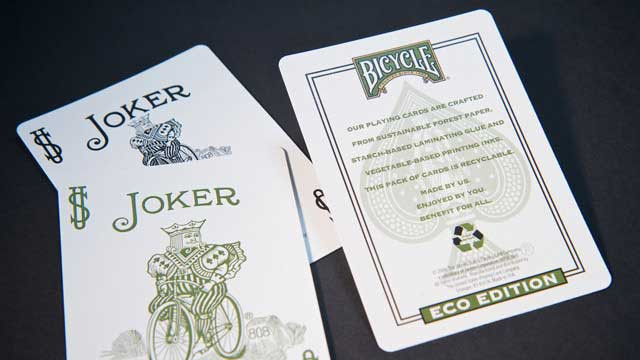 Bicycle Eco Edition Recyclable Playing Cards