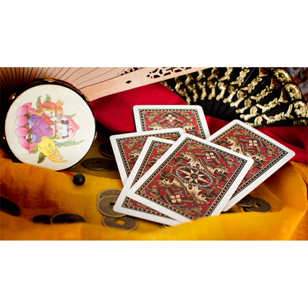Bicycle Gold Dragon Back Playing Cards