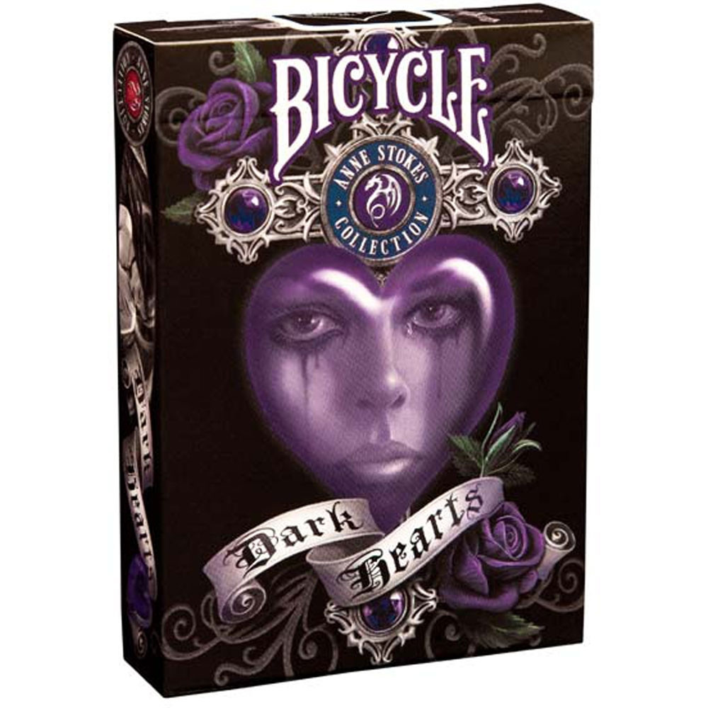 Bicycle Anne Stokes II Dark Hearts Playing Cards