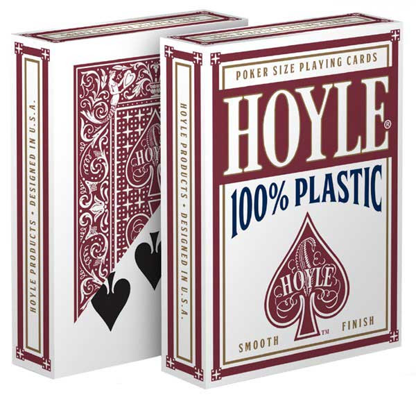 Hoyle 100% Plastic Playing Cards