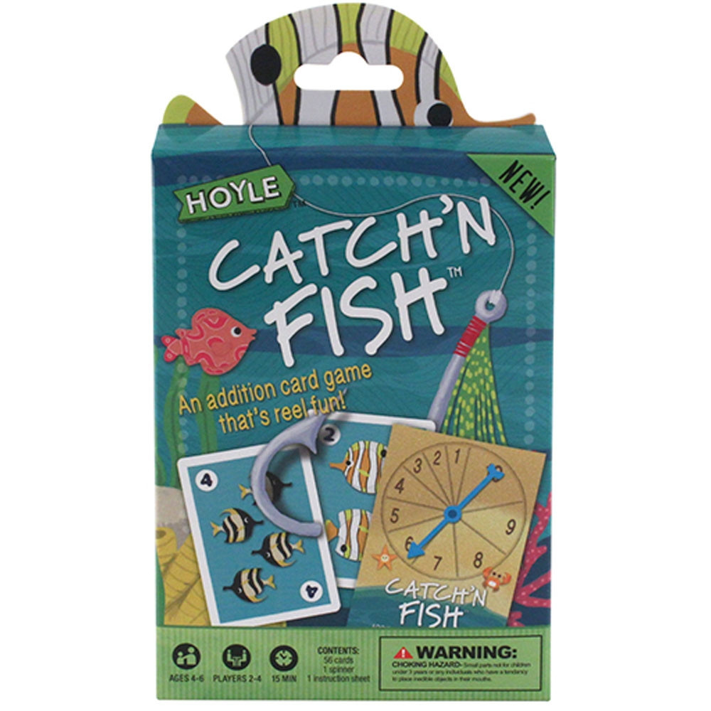 Hoyle catch 39 n fish card game for Fish card game