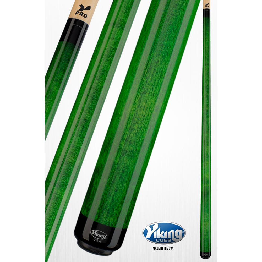 Viking A205 Green Pool Cue
