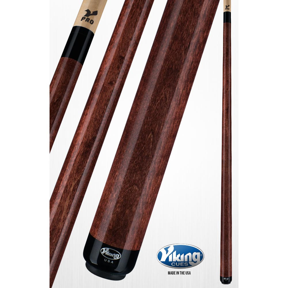 Viking A211 Sienna Brown Pool Cue