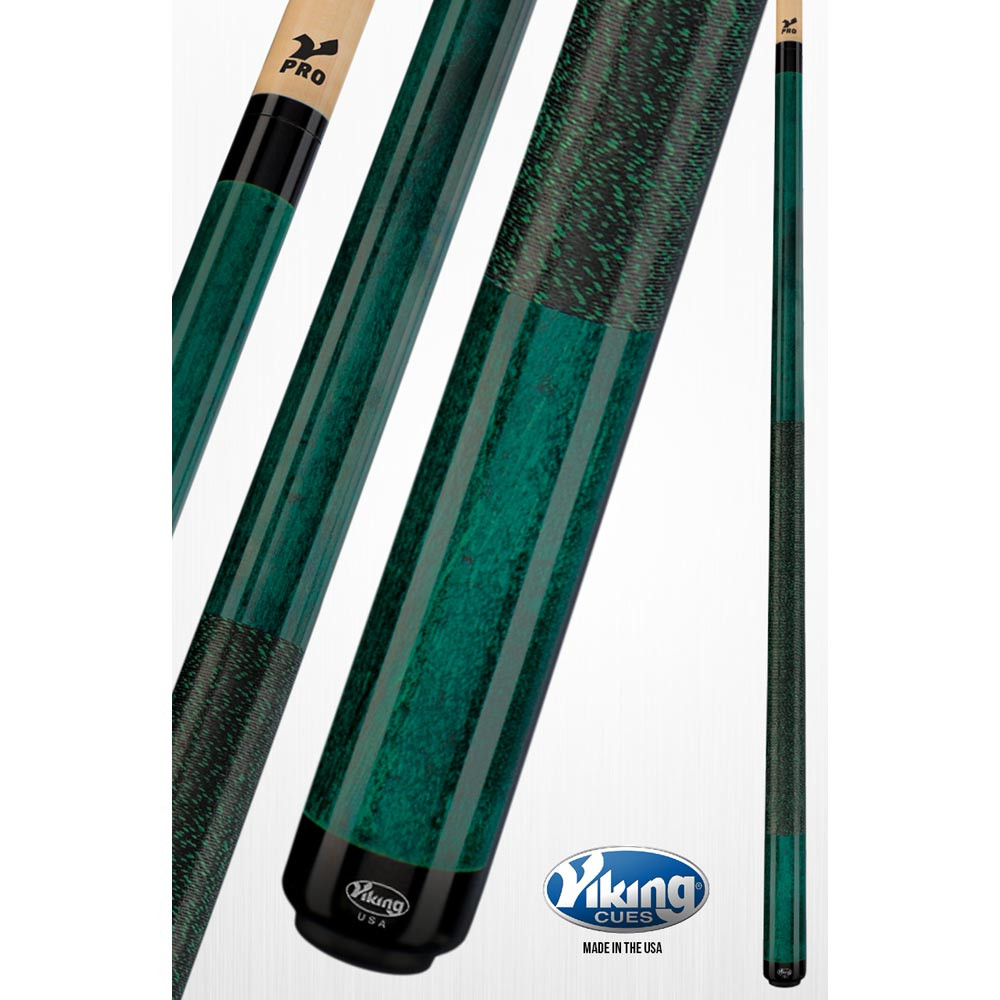 Viking A223 Jade Green Pool Cue