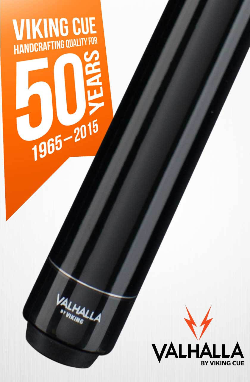 Viking Valhalla VA101 Black Pool Cue Stick
