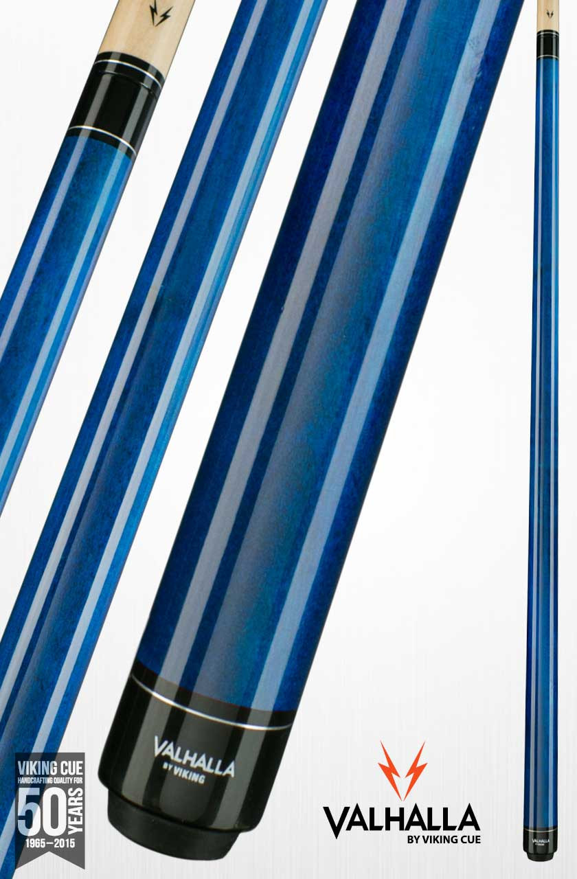 Viking Valhalla VA103 Blue Pool Cue Stick