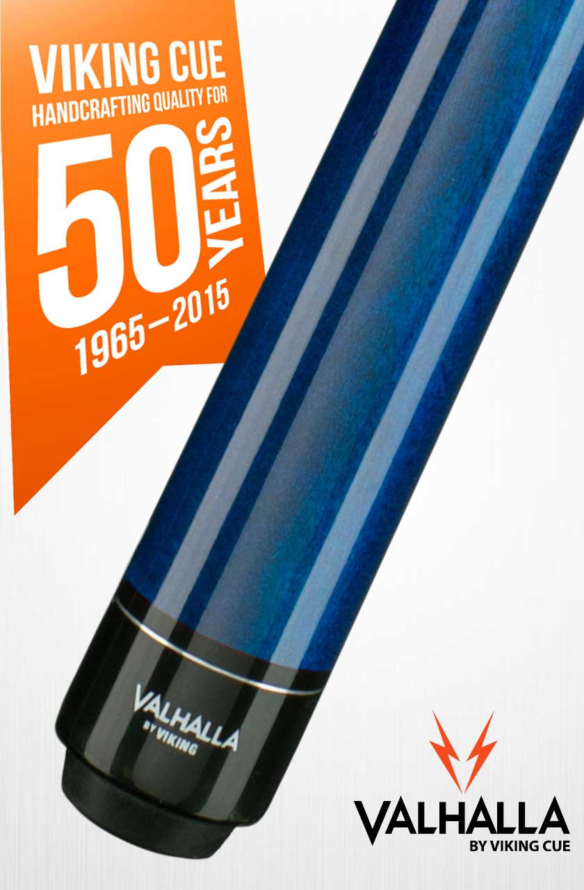 Viking Valhalla VA103 Blue Pool Cue Stick