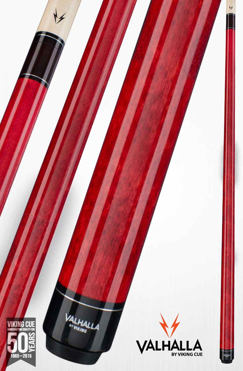 Viking Valhalla VA104 Red Pool Cue Stick